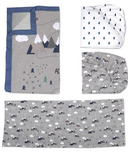 Lolli Living Crib Bedding Set Peaks