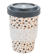 Woodway Bamboo To-Go Cup Paws