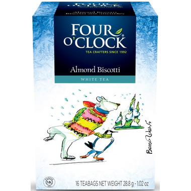 Four O\'Clock Almond Biscotti Tea
