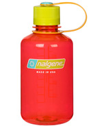 Nalgene 16 Ounce Narrow Mouth Water Bottle Pomegranate