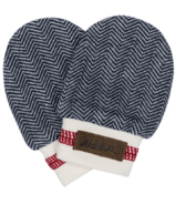 Juddlies Organic Cottage Scratch Mitts Lake Blue