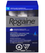 Rogaine Hair Regrowth Treatment Foam for Men