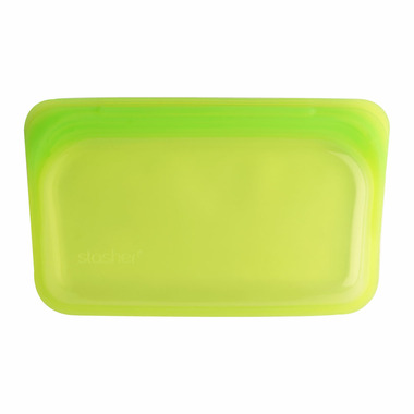Stasher Reusable Snack Bag Lime