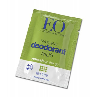 Everyone Deodorant Wipes Tea Tree