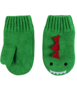 ZOOCCHINI Baby Knit Mittens Devin the Dinosaur