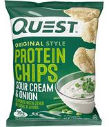 Quest Nutrition Chips protéinées à la crème et à l'oignon