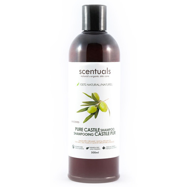 Scentuals 100% Natural Castile Shampoo Unscented