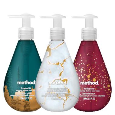 Method Gel Hand Wash Trio