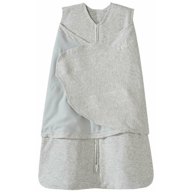 Halo 100% Cotton SleepSack Swaddle Heather Grey
