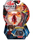 Bakugan Ultra Hyper Dragonoid Collectible Action Figure and Trading Card