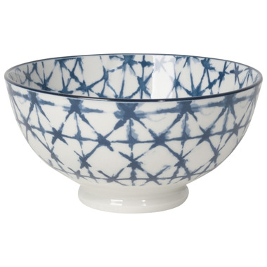 Now Design Bowl Stamped Shibori Cereal