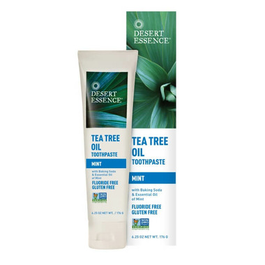 Desert Essence Natural Tea Tree Oil Toothpaste