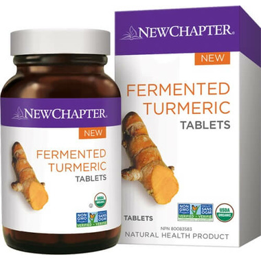 New Chapter Fermented Turmeric Tablets
