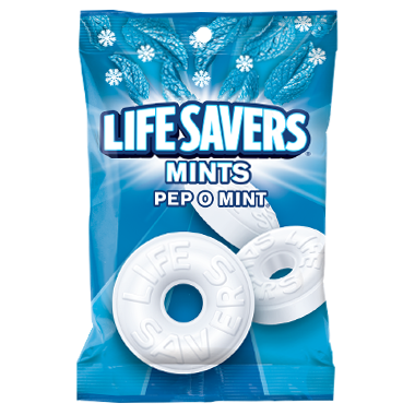 Life Savers Mints Pep O Mint