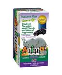 Nature's Plus Source of Life Multivitamin Grape Chewable