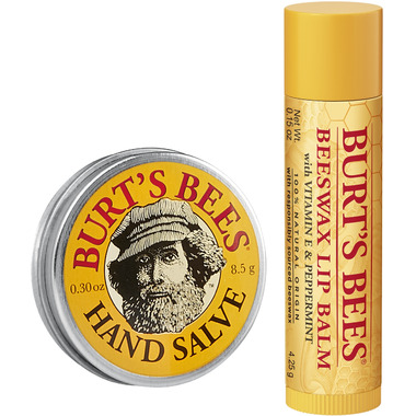 Burt\'s Bees A Bit of Burt\'s Bees Original Beeswax Lip Balm and Hand Salve