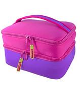 DabbaWalla Bags Duo Lunch Bag Pink/Purple