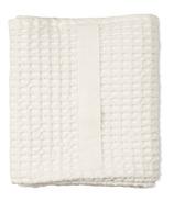 The Organic Company Big Waffle Medium Towel Natural White
