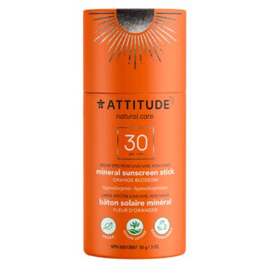 ATTITUDE SPF 30 Sunscreen Stick Orange Bloosom
