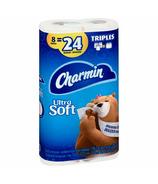 Charmin Bath Tissue Soft Triple Rolls