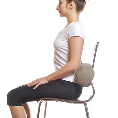 Halfmoon Mini Cylindrical Yoga Bolster Heart Centre