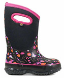 Bogs Classic Insulated Boots Cattail Black Multi
