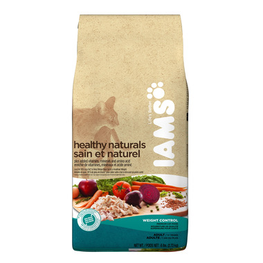 Iams Cat Healthy Naturals Adult Weight Control