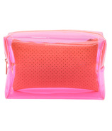 MYTAGALONGS Malibu Large Cosmetic Pouch Pink