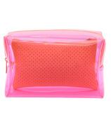 MYTAGALONGS Malibu Large Cosmetic Pouch Pink