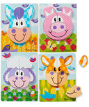Melissa & Doug Farm Animals Wooden Chunky Jigsaw Puzzle Toddler