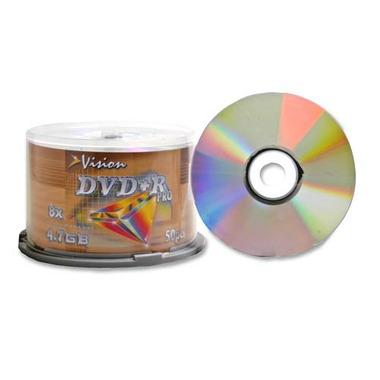 Vision 8X DVD-R Discs