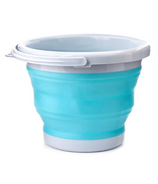 Kikkerland Collaspsible Bucket Aqua