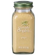 Simply Organic Ginger