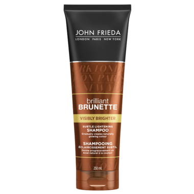 John Frieda Brilliant Brunette Visibly Brighter Subtle Lightening Shampoo