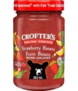 Crofter's Organic Strawberry Banana Premium Spread