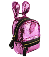 Fashion Angels S.Lab Sequin Bunny Mini Backpack Muted Pink