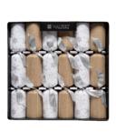 Walpert Natural Glitter Crackers 6 Pack