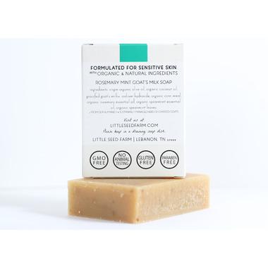 Little Seed Farm Rosemary Mint Bar Soap