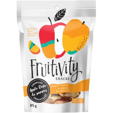 Fruitivity Snacks Crunchy Apple Chips Mango