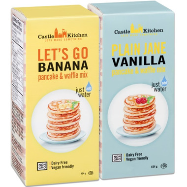 Castle Kitchen Let\'s Go Banana Pancake & Waffle Mix