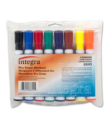 Integra Chisel Point Dry-Erase Markers
