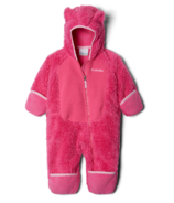 Columbia Foxy Baby Sherpa Bunting Pink Ice