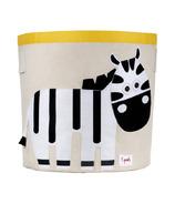 3 Sprouts Storage Bin Zebra