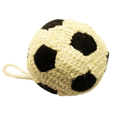 Kingsley Terry & Sisal Scrubber Soccer Ball