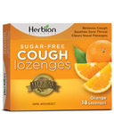 Herbion Sugar Free Cough Lozenges Orange
