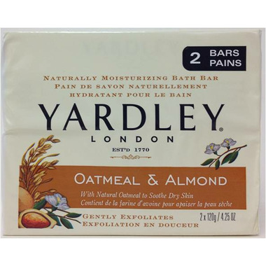 Yardley Oatmeal & Almond Naturally Moisturizing Botanical Soap