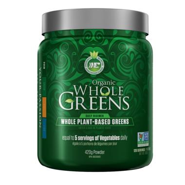 Ergogenics Nutrition Organic Whole Greens Powder
