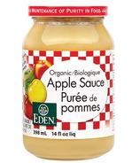 Sauce aux pommes biologique de Eden Foods