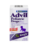Advil Pediatric Drops For Infants Dye Free Grape