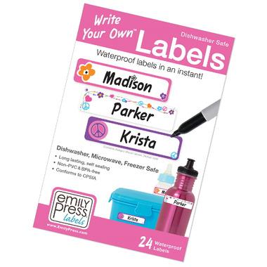 Emily Press Labels Hippie Daze